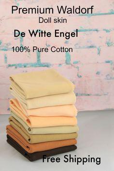 2022a65d33b Doll skin fabric-Waldorf Doll Skin Fabric yard -Rag Doll Supplies-Waldorf  Doll Supplies-DIY doll-De Witte Engel from Holland