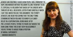 Amanda Marcotte Amanda Marcotte Atheist are routinely asked Godless Mom