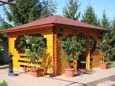 Foisor patrat 4 x 4 metri Portal, Outdoor Structures