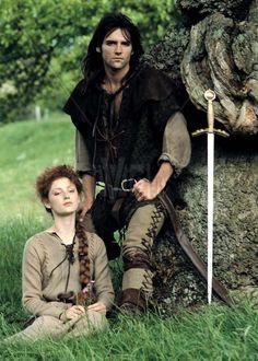 """Robin of Sherwood"" - British TV Series Robin Hood Bbc, Robin Hoods, Jason Connery, Richard Carpenter, Men Tv, Classic Tv, Period Dramas, Best Memories, Movie Tv"