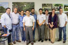 Japoneses visitam a ABCZ para conhecer tecnologias da pecuária leiteira