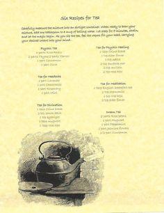 Magickal teas