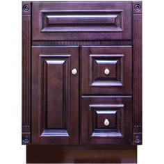 Strasser Woodenworks Montlake 24 Vanity With Right