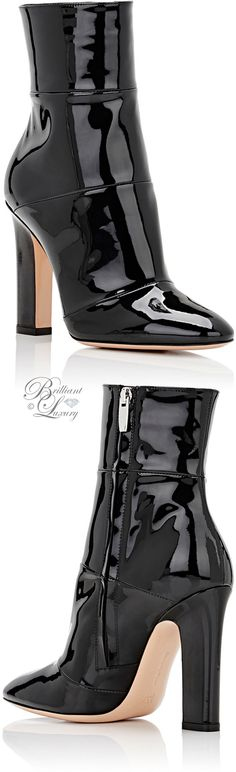Brilliant Luxury by Emmy DE ♦Gianvito Rossi Brandy Ankle Boots