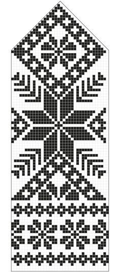 Latvian Mittens DIY Pattern knitting kit