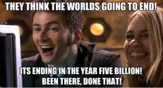 Why no Whovian is worried. When I said this, they looked at me like I was the crazy one!