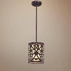 Nanti Collection Iron Oxide Mini Pendant Light - #K8747 | Lamps Plus
