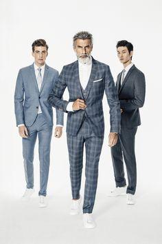 Anzüge von CINQUE I Mode von Feucht Suit Jacket, Breast, Suits, Jackets, Fashion, Fashion Styles, Down Jackets, Moda, Suit