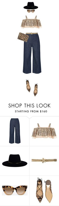 """Weekend Style"" by marion-fashionista-diva-miller ❤ liked on Polyvore featuring Whistles, Temperley London, Zimmermann, Chanel, Valentino, Salvatore Ferragamo, Gérard Darel, weekend, casualstyle and weekendstyle"