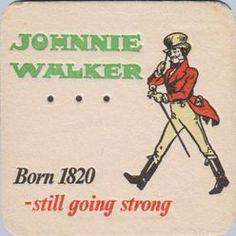 Johnnie Walker coaster