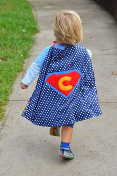 It's a bird...   It's a plane...   It's Super Charlie and Super Isla!     Most little ones go through a superhero  phase at some point ...