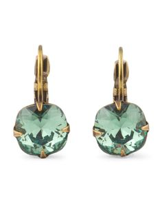 LIZ PALACIOS Erinite Crystal Drop Earrings Liz Palacios, Vintage Fans, True Art, Crystal Drop, Tj Maxx, Swarovski Crystals, Bling, Drop Earrings, Jewelry