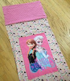 Frozen nap mat Elsa nap mat Anna nap mat by CrystalsExpressions, $40.00