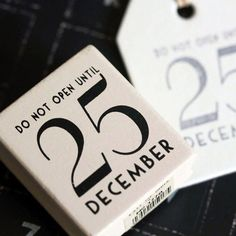 East of India Do Not Open Until 25 December Rubber Stamp - Christmas Craft / DIY Gift Tags ** Read more reviews of the product by visiting the link on the image.