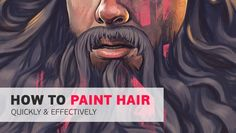 Painting convincing hair can be a difficult and frustrating process. We break the process down into a few easy-to-follow steps.