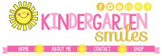Kindergarten Smiles- an incredible blog that has all kinds of Kindergarten learning and actvities.