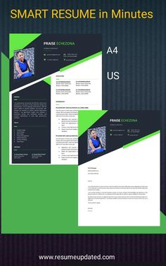 Modern Resume Template, Resume Design Template, Resume Templates, Cover Letter Format, Cover Letter For Resume, Professional Resume, Creative Resume, Office Jobs, Etsy Shop