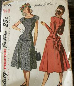 vintage dress pattern simplicity 2099 @Nicole Garofalo Ahhh.  It's so adorable.