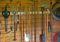Grundausstattung Gartenmaschinen/Geräte