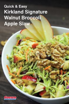 Opposites attract in a dish that effortlessly pairs lemon juice, red onion and ginger with honey, dried cranberries and apple. Food Tips, Food Hacks, Apple Slaw, Opposites Attract, Dried Cranberries, Junk Food, Quick Easy Meals, Healthy Eats, Food Videos