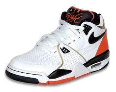 Nike Air Flight 89 - White / Black / Orange