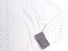 Micro Feathers LS Button Up