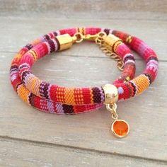 Aztec Bracelet - Orange - Mint15