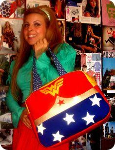Wonder Woman by juliana lourenço crazy for shoes, via Flickr