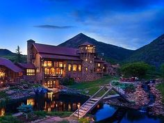 Inside This Mountaintop Castle, Yet Another Antique Barn - House of the Day - Curbed National