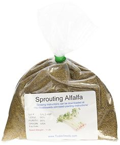Ad Disclosure We got these instructions to grow Alfalfa Sprouts from my daughter's teacher years ago when she was in the 4th grade.  It was meant to be an at home experiment to teach them about seed germination, but it was so fun, we continued to make the sprouts to eat.  We like to use …