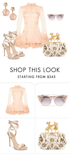 """Nude Shick"" by baya-baya on Polyvore featuring мода, Francesco Scognamiglio, Jimmy Choo, Giuseppe Zanotti, Alexander McQueen и Pasquale Bruni"