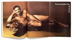 Burt Reynolds says he regrets his famous nude bearskin rug photo - Francesco Scavullo/Cosmopolitan