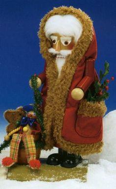 SIGNED Steinbach Good Old Santa German Christmas Nutcracker Germany New