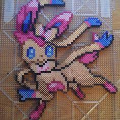Slyveon Pokemon perler beads  by Melissa