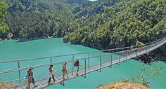 Passerelles himalayennes au Lac de Monteynard