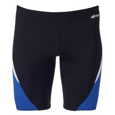 Men's Dolfin Jammer Swim Trunks, Size: 28, Black