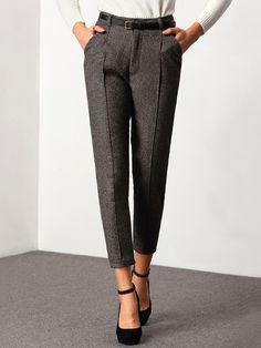 Grey Slim Pockets Pant 21.29