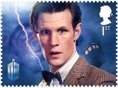 Classic TV - 50 Years of Doctor Who 1st Stamp (2013) Matt Smith