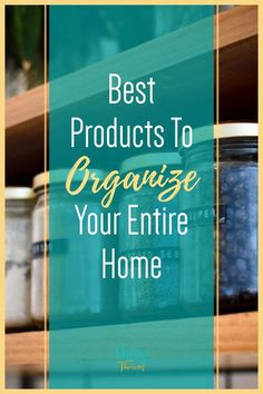 Clutter Free Organization Products For Home - Best Products For Home Organization - How To Organize Your Home Entryway Organization, Small Space Organization, Home Organization Hacks, Organizing Ideas, Organizing Clutter, Organizing Your Home, Declutter, Organize, Pantry Storage Containers