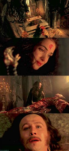 Dracula (1992). Gary Oldman as Dracula, Winona Ryder as Elisabeta, Anthony Hopkins as Professor Abraham Van Helsing, Keanu Reeves as Jonathan Harker, Monica Bellucci as Dracula's Bride, and Sadie Frost as Lucy