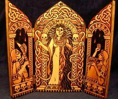 Hel Shrine 1 | by Jesseca Trainham