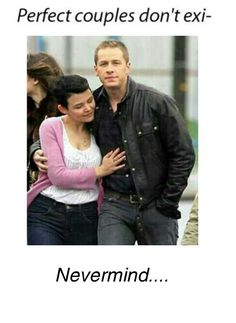 """Real life snow white and prince charming. """"I will always find you"""" #Snowing #ouat"""