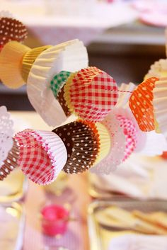 Garland for baking party
