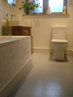 1000 images about bathrooms on pinterest rubber - Rubber flooring for kitchens and bathrooms ...