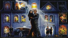 Addams Family W/ THING lights UNDER DMD [dB2S]