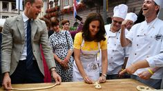 Prince William and Kate Middleton Had a Pretzel-Filled Outing in Germany