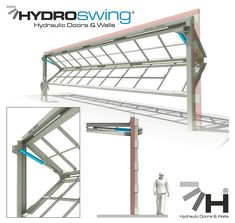 Hydroswing® Hydraulic Doors | Everything you need to know about Hydraulic Doors for Aviation, Agriculture, Industrial & Architectural use