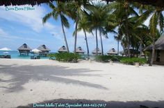Bora Bora Hilton Beach   #DeniseMello  #CertifiedTahitiSpecialist 888-462-7817