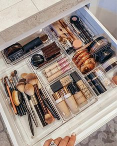Makeup Storage Cabinet Ideas through Makeup Drawer Organization Ideas many Makeup Forever Lip Liner. Makeup Organization Ideas Diy plus Makeup Bag As Seen On Shark Tank Bathroom Vanity Organization, Makeup Drawer Organization, Organization Hacks, Bathroom Ideas, Organization Ideas For The Home, Makeup Storage Drawers, Organize Bathroom Drawers, Bathroom Cabinet Storage, Vanity Bathroom
