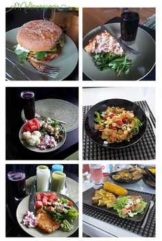 Mielenmaisemia: Hyvää ruokaa ja herkkuja